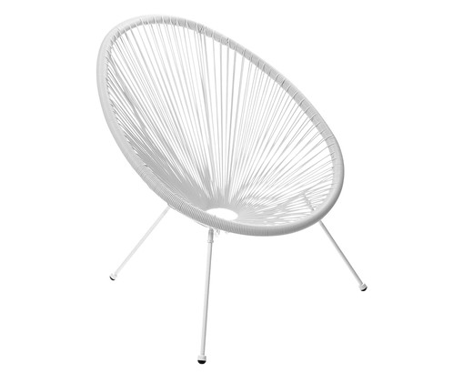 Cadeira Acapulco - Branca, branco | WestwingNow