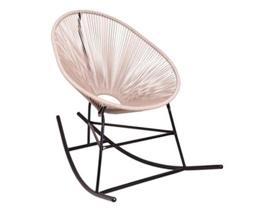 Cadeira Acapulco Balanço - Fendi, Bege | WestwingNow