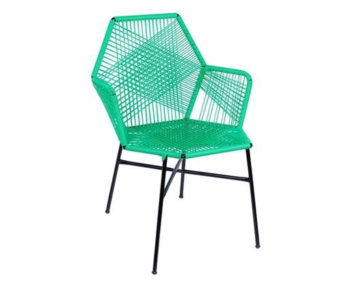 Cadeira de Fibra Sintética Tropicalia - Verde, Verde | WestwingNow
