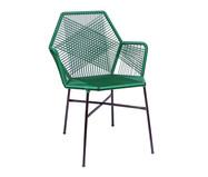 Cadeira de Fibra Sintética Tropicalia - Verde Musgo | WestwingNow