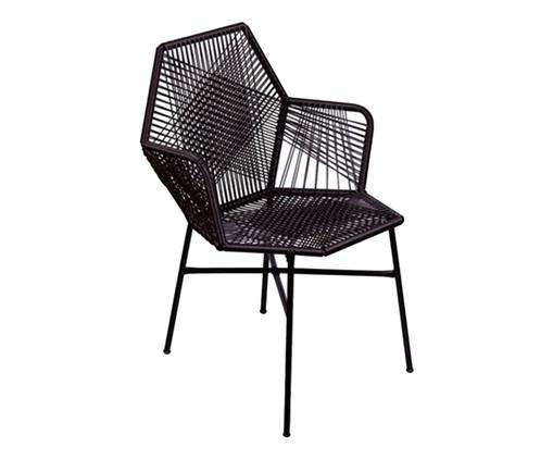 Cadeira de Fibra Sintética Tropicalia - Preto, Preto | WestwingNow