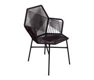Cadeira de Fibra Sintética Tropicalia - Preto | WestwingNow