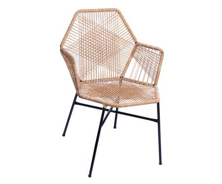Cadeira de Fibra Sintética Tropicalia - Palha | WestwingNow
