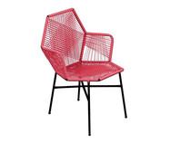 Cadeira de Fibra Sintética Tropicalia - Living Coral | WestwingNow