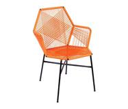 Cadeira de Fibra Sintética Tropicalia - Laranja | WestwingNow