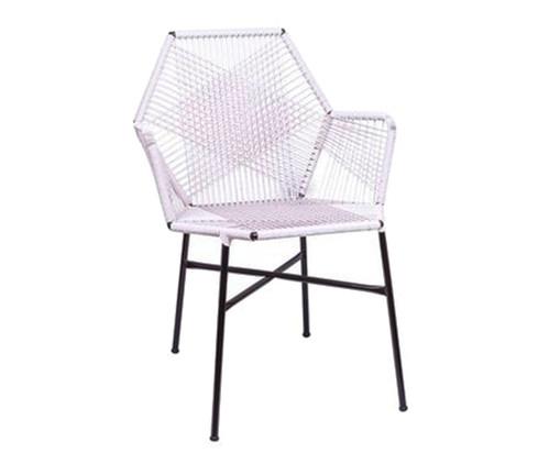 Cadeira de Fibra Sintética Tropicalia - Branca, Branco | WestwingNow