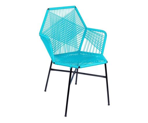 Cadeira de Fibra Sintética Tropicalia - Azul Tiffany, Azul | WestwingNow