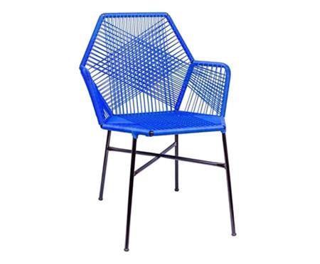 Cadeira de Fibra Sintética Tropicalia - Azul Bic | WestwingNow