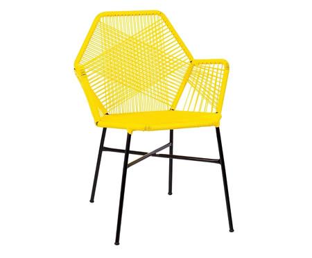 Cadeira de Fibra Sintética Tropicalia - Amarela | WestwingNow