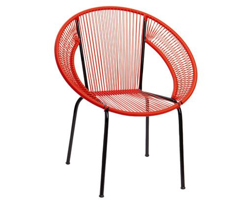 Cadeira Cancun - Vermelha, Vermelho | WestwingNow