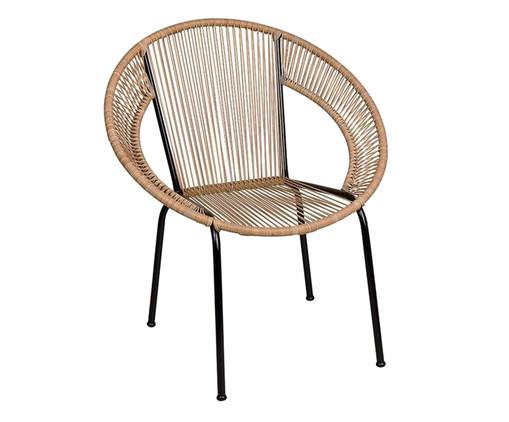Cadeira Cancun - Palha, Marrom   WestwingNow
