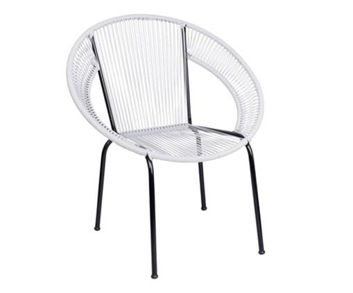Cadeira Cancun - Branco, Branco | WestwingNow