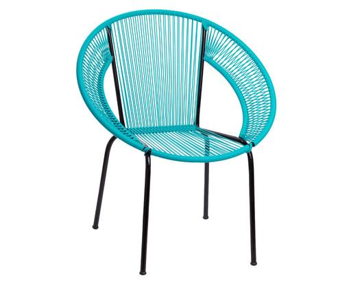 Cadeira Cancun - Azul Tiffany, Azul | WestwingNow
