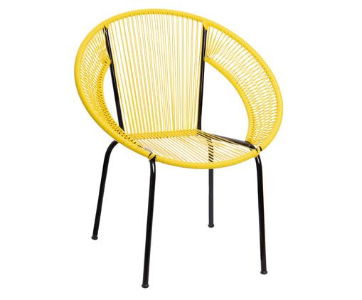 Cadeira Cancun - Amarela, Amarelo   WestwingNow