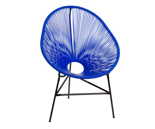 Cadeira Acapulco Baka - Azul Bic, Azul | WestwingNow