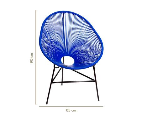 Cadeira Acapulco Baka - Azul Bic | WestwingNow