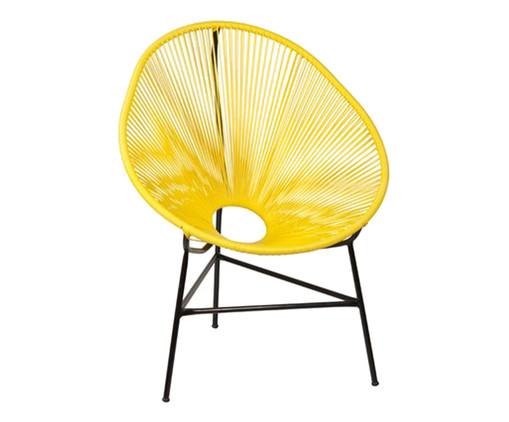 Cadeira Acapulco Baka - Amarela, Amarelo | WestwingNow
