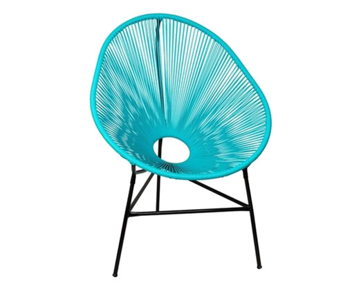 Cadeira Acapulco Baka - Azul Tiffany, Azul   WestwingNow