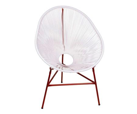 Cadeira Acapulco Baka - Branco Cobre | WestwingNow