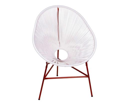 Cadeira Acapulco Baka - Branco Cobre, Branco | WestwingNow