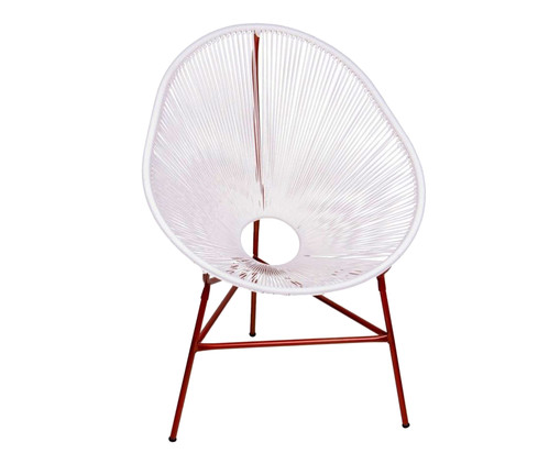 Cadeira Acapulco - Branco Cobre, Branco | WestwingNow