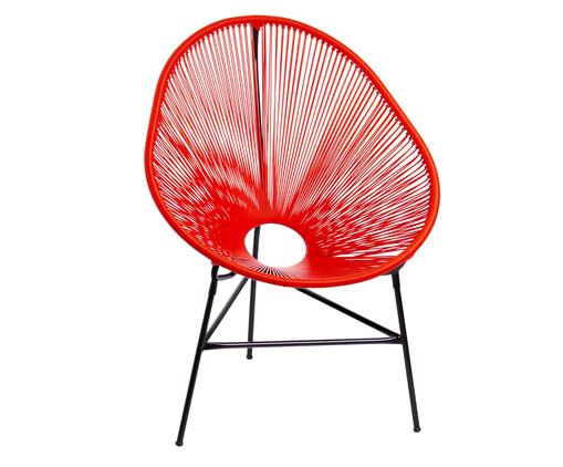 Cadeira Acapulco Baka - Vermelha, Vermelho | WestwingNow