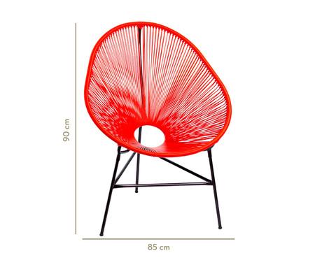 Cadeira Acapulco Baka - Vermelha | WestwingNow