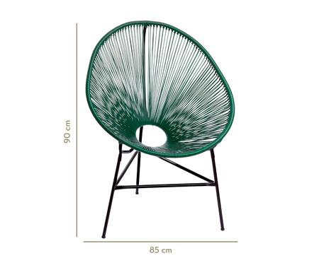 Cadeira Acapulco Baka - Verde Musgo | WestwingNow