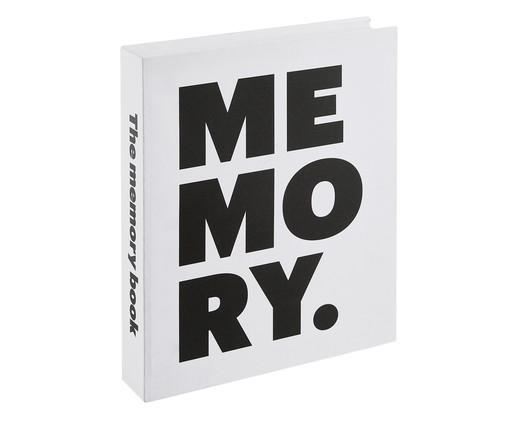 Book Box Memory Fin - Branco, Branco,preto | WestwingNow