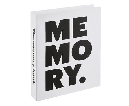 Book Box Memory Fin - Branco | WestwingNow