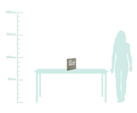 Livro Caixa Decorativo Brilliant - Cinza | WestwingNow