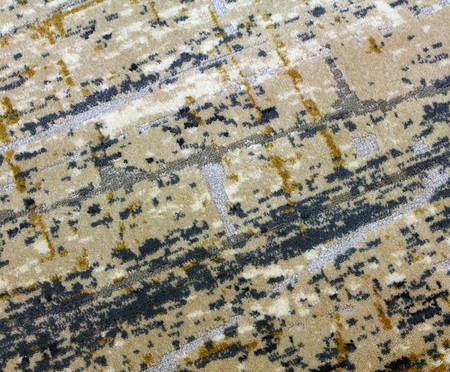 Tapete Turco Artisan Debrum - Cinza e Azul | WestwingNow