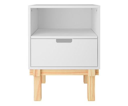 Mesa de Cabeceira Cavaletto - Branco, Branco | WestwingNow