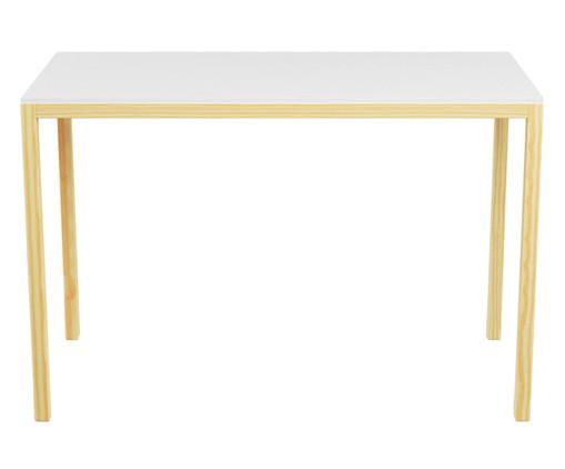 Escrivaninha de madeira Paulista - Branca, Branco | WestwingNow