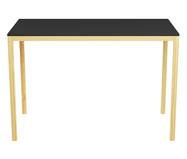 Escrivaninha de madeira Paulista - Preta | WestwingNow