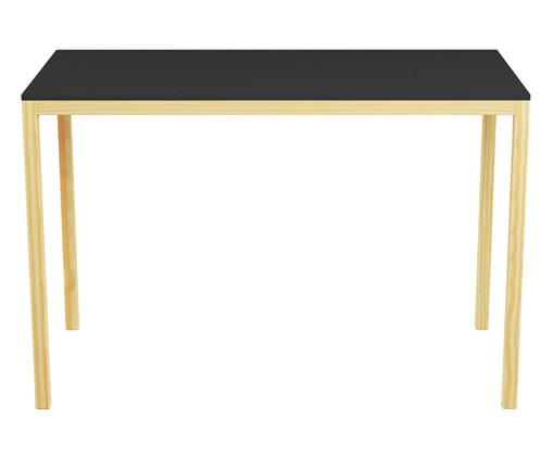 Escrivaninha de madeira Paulista - Preta, Preto | WestwingNow
