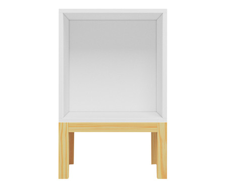 Mesa de Cabeceira Nicho Paulista - Branco | WestwingNow