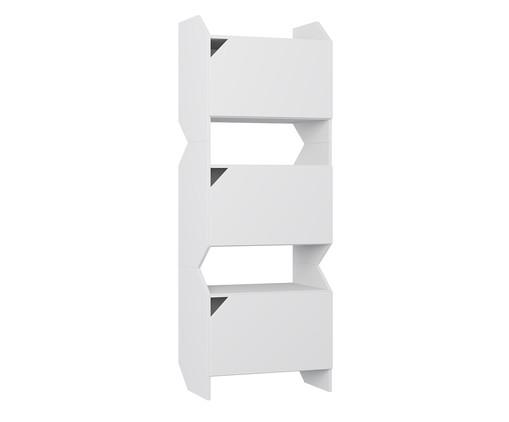 Estante com Portas Soul - Branca, Branco | WestwingNow