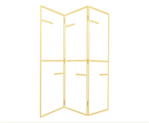Biombo de Ferro Arris - Dourado, Dourado | WestwingNow