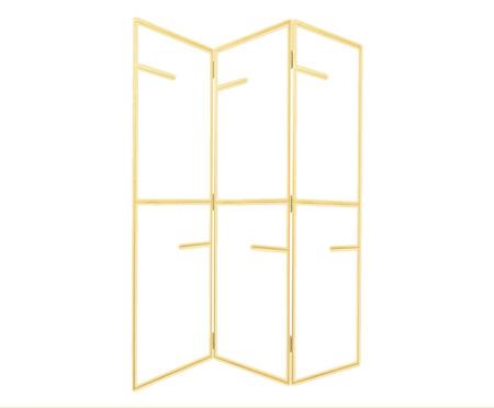 Biombo Arris - Dourado | WestwingNow