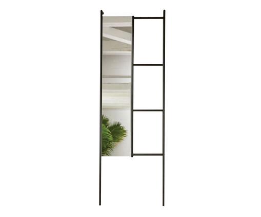 Espelho Mirror Stair - Preto, Preto | WestwingNow