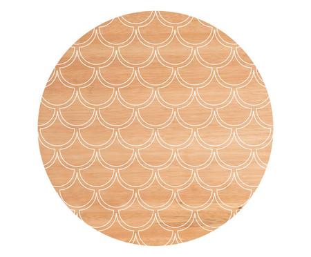 Banquinho Orion Sirena - Dourado | WestwingNow