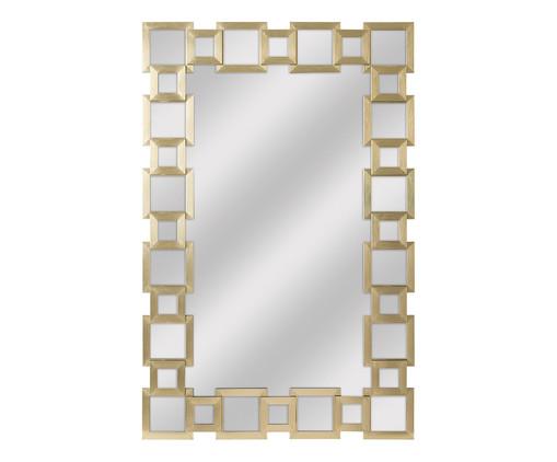 Espelho Pavia - Dourado, Espelhado | WestwingNow