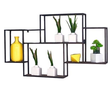 Prateleira Mondrian - Preto | WestwingNow
