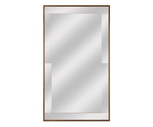 Espelho Potenza - Marrom, Espelhado | WestwingNow