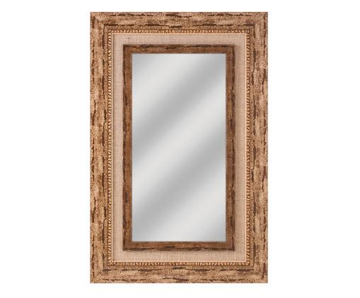 Espelho Veneza - Marrom, Marrom, Natural, Espelhado | WestwingNow
