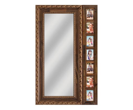 Espelho Peruggia - Marrom, Marrom, Natural, Espelhado | WestwingNow