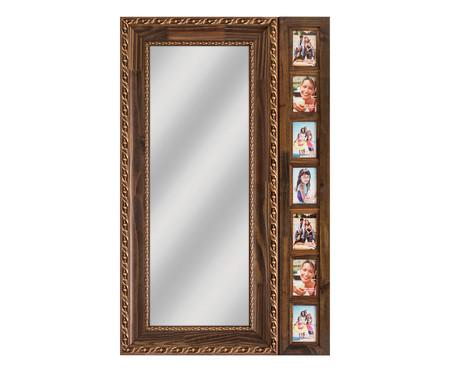 Espelho Peruggia - Marrom | WestwingNow