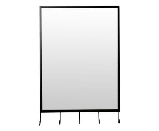 Espelho Hanger - Preto, Preto | WestwingNow