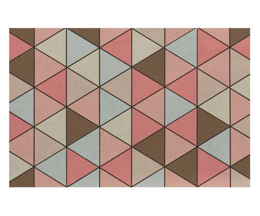 Tapetinho Emborrachado Rosário - Colorido, Rosa e Marrom | WestwingNow